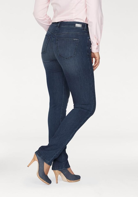 MAC Stretch-Jeans 'Angela Pearl'