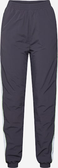 Urban Classics Broek 'Ladies Piped Track Pants' in de kleur Grijs, Productweergave