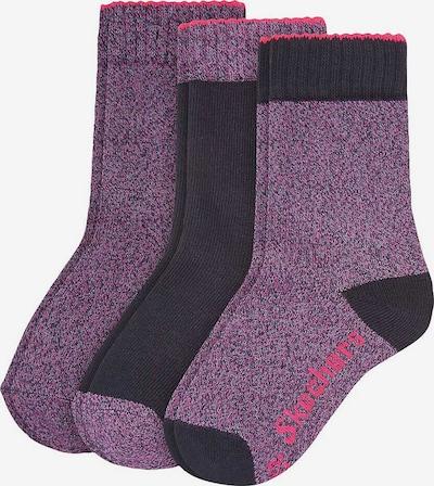 SKECHERS Socken in nachtblau / beere, Produktansicht