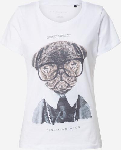 EINSTEIN & NEWTON Shirt 'Jogging Pants' in braun / schwarz / weiß, Produktansicht