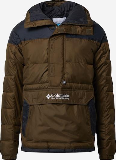 COLUMBIA Winterjas in de kleur Kaki / Zwart, Productweergave