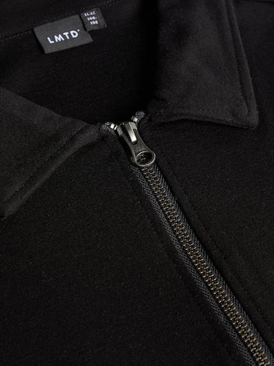 NAME IT Sweatshirt in schwarz: Frontalansicht