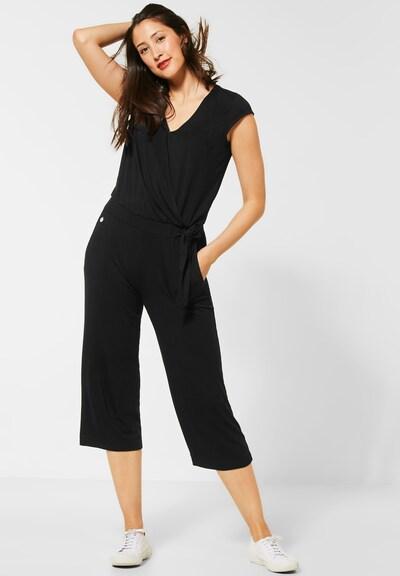 STREET ONE Jumpsuit in schwarz, Modelansicht