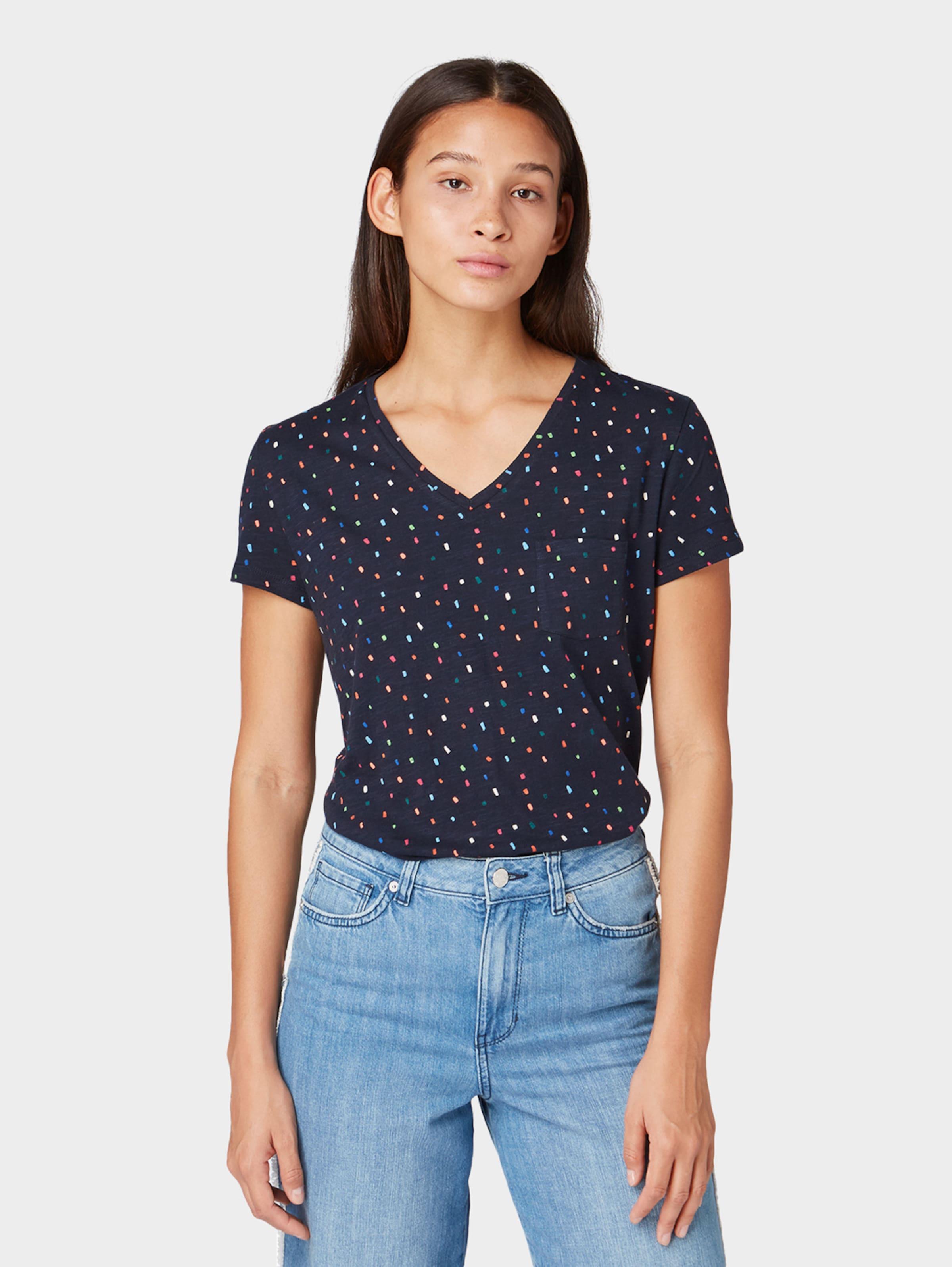 Denim shirt In T NavyMischfarben Tom Tailor Tc3FKl1J