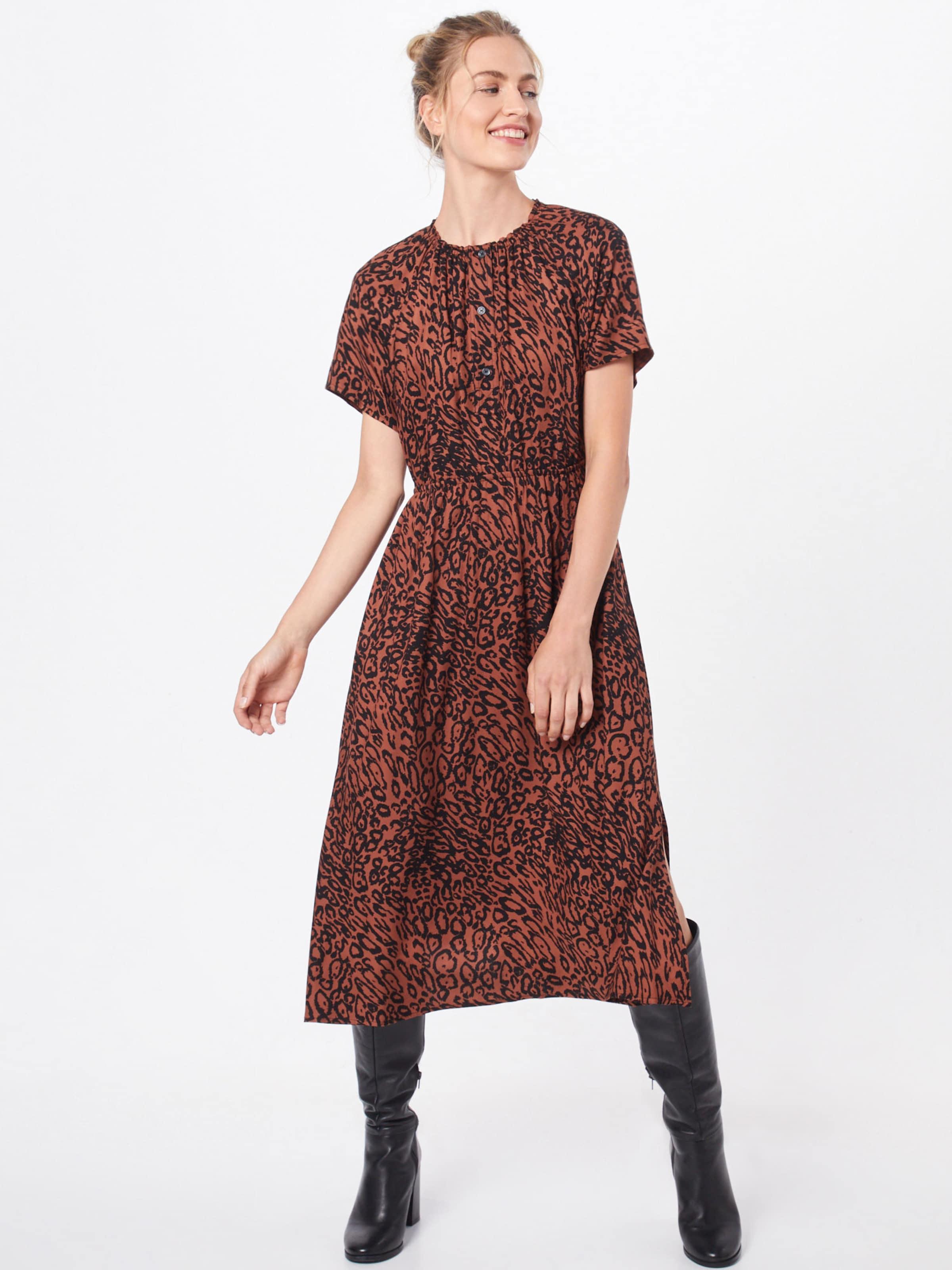 Klein BraunSchwarz 'leopard' In Kleid Calvin nOkPX80w