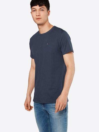 Tommy Jeans T-Shirt 'TJM ORIGINAL JERSEY' en bleu foncé: Vue de face