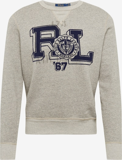 POLO RALPH LAUREN Sweatshirt 'LSCNM5-LONG SLEEVE-KNIT' in de kleur Grijs, Productweergave