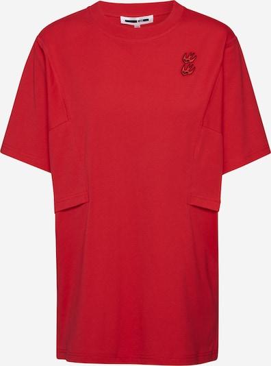 McQ Alexander McQueen Shirt 'Boyfriend T-Shirt' in rot, Produktansicht