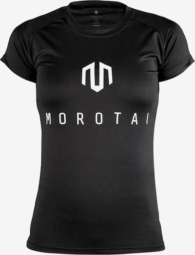 MOROTAI T-Shirt 'Performance Basic' in schwarz / weiß, Produktansicht