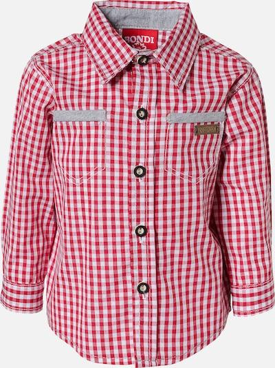 BONDI Hemd in rot / weiß, Produktansicht