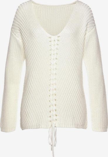 LASCANA Pullover in creme, Produktansicht