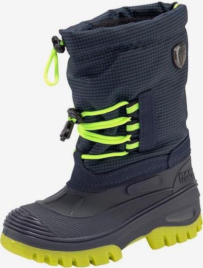 CMP Stiefel 'Ahto' in nachtblau / neongrün / schwarz, Produktansicht