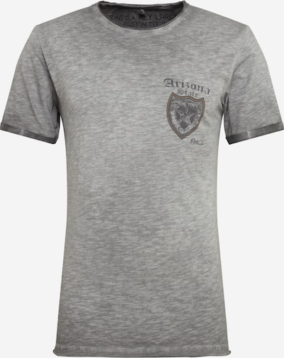 Key Largo Shirt 'MT STATE' in anthrazit, Produktansicht