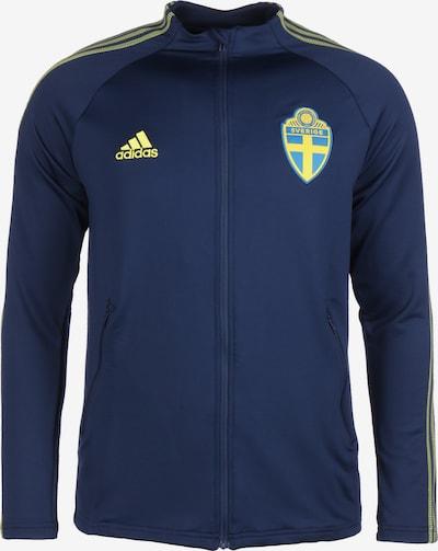 ADIDAS PERFORMANCE Jacke 'Schweden EM 2020' in himmelblau / dunkelblau / gelb, Produktansicht