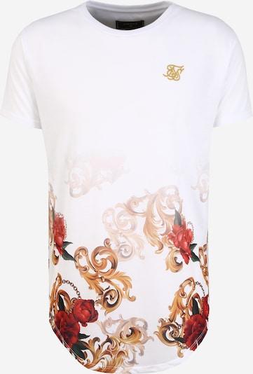 SikSilk Tričko - zmiešané farby / biela, Produkt