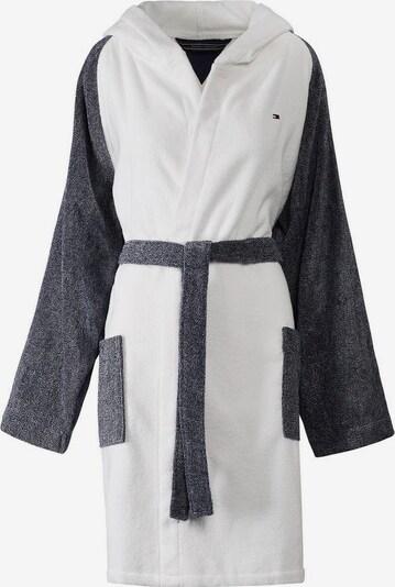 TOMMY HILFIGER Mantel »Sweater« in dunkelgrau / weiß, Produktansicht
