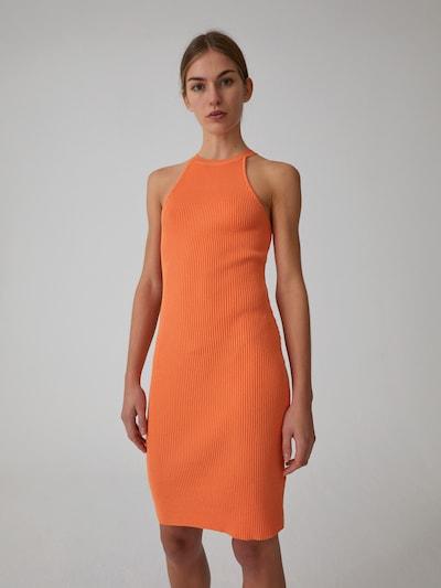 EDITED Kleid 'India' in orange, Modelansicht