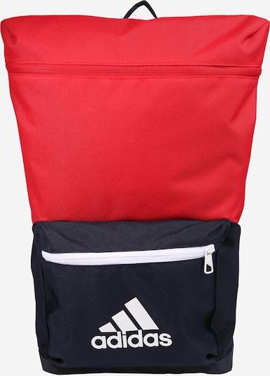 Sportinė kuprinė iš ADIDAS PERFORMANCE , spalva - tamsiai mėlyna / raudona / balta, Prekių apžvalga