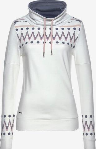 KangaROOS Sweatshirt in Weiß