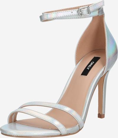 ONLY Sandalette  'AILA ' in silber, Produktansicht