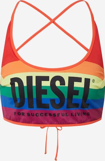 DIESEL Bikinitop in mischfarben, Produktansicht