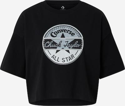 CONVERSE T-Shirt 'Art OS Floral Circle Tee' in schwarz, Produktansicht