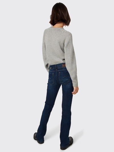 G-Star RAW 'Midge Saddle Mid Bootleg' Jeans in blau: Rückansicht