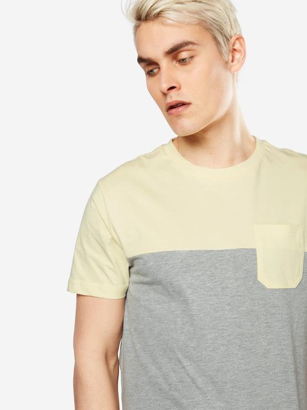 Urban Classics T-Shirt 'Color Block Summer Pocket'