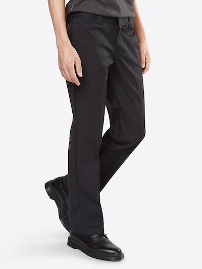 DICKIES Hose 'WP873' in schwarz, Modelansicht