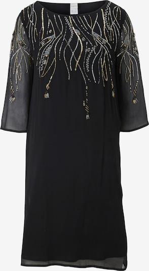 Rochie de cocktail heine pe negru, Vizualizare produs
