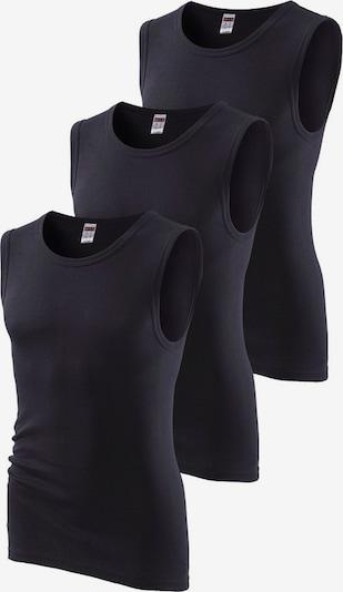 H.I.S Muscleshirts in schwarz, Produktansicht