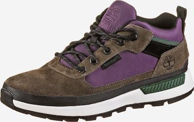 TIMBERLAND Boots 'Field Trekker' in braun / violettblau, Produktansicht