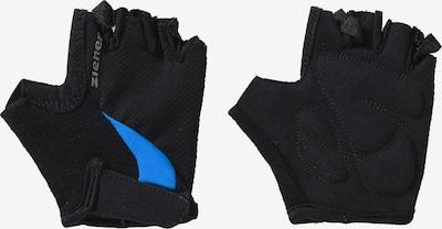 ZIENER Fahrradhandschuhe 'Crido' in blau / schwarz, Produktansicht