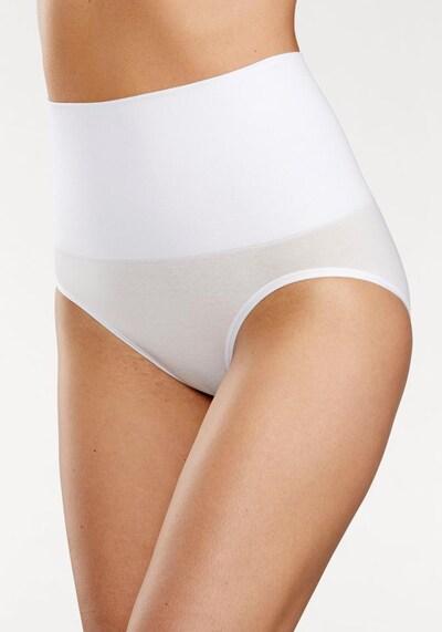 Slip modellante PETITE FLEUR di colore bianco: Vista frontale
