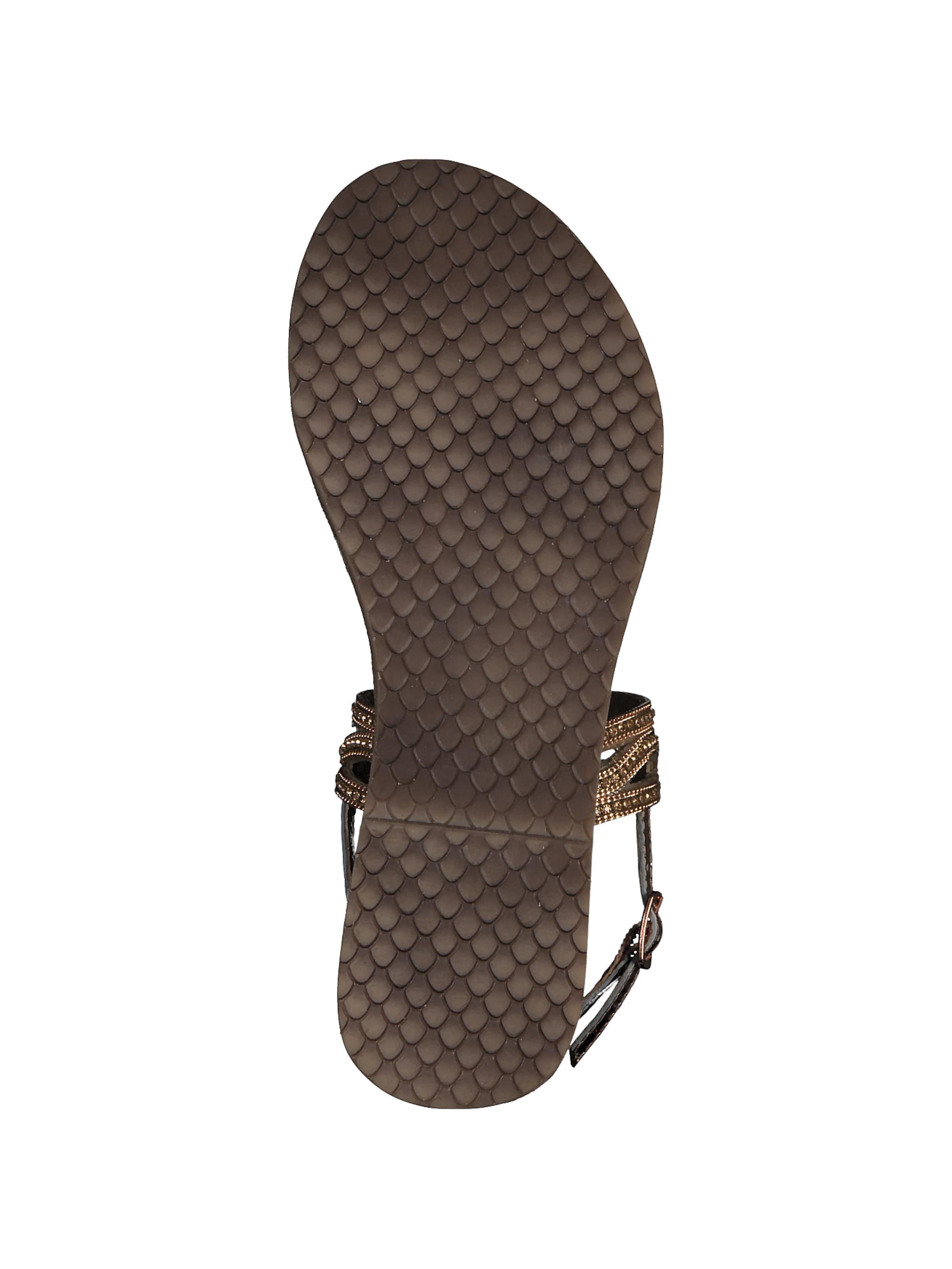 Sandale' Tamaris In DamenSandalen 'strappy Gold 0knwO8NPX