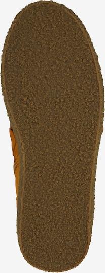 Suvarstomieji kulkšnis dengiantys batai iš Ca Shott , spalva - geltona: Vaizdas iš apačios