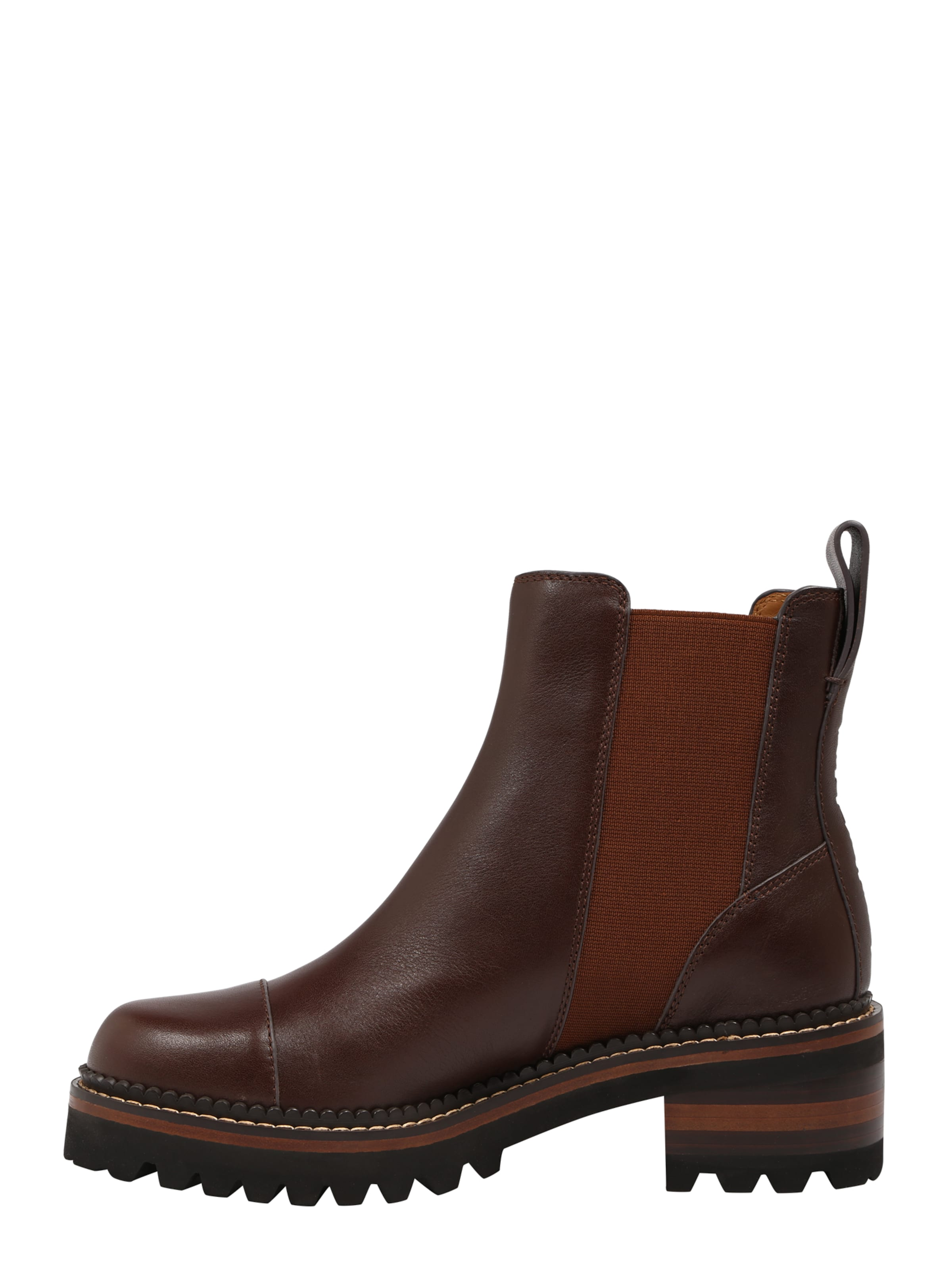 In Braun Chloé By See Stiefelette f76ybg