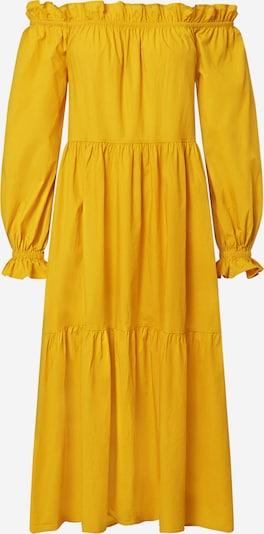 River Island Robe 'Bardot' en jaune: Vue de face