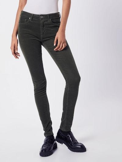 Kelnės iš Pepe Jeans , spalva - rusvai žalia, Modelio vaizdas