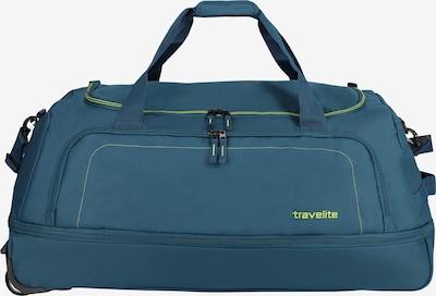 TRAVELITE Reisetasche in limone / petrol, Produktansicht