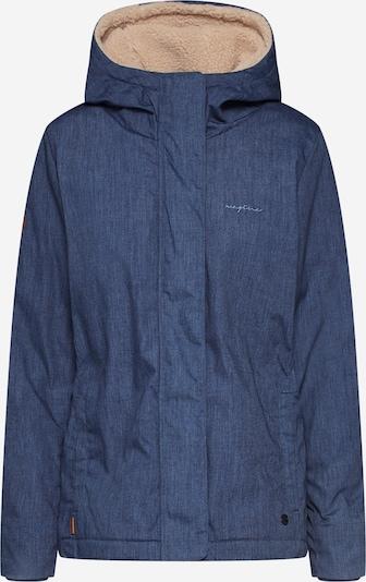 Žieminė striukė iš mazine , spalva - mėlyna: Vaizdas iš priekio