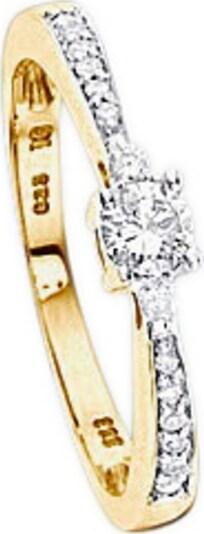 VIVANCE Ring in gold, Produktansicht