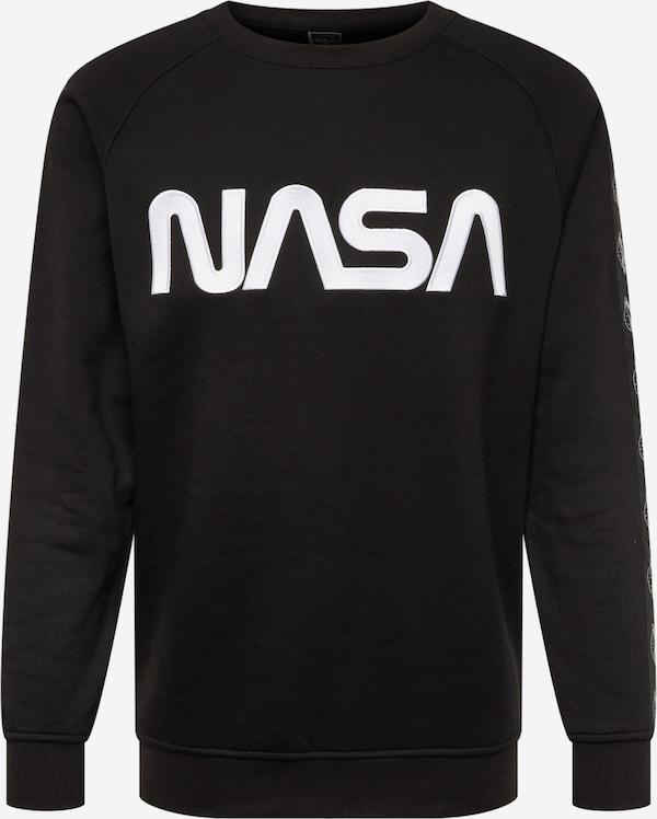 Mister Tee Sweatshirt 'NASA' in schwarz   ABOUT YOU