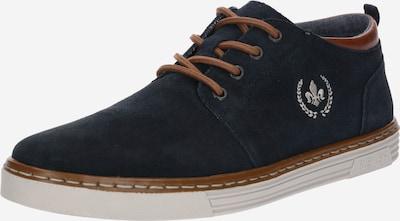RIEKER Обувки с връзки в нейви синьо / кафяво, Преглед на продукта