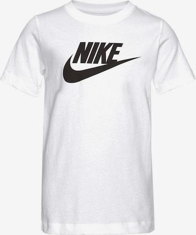 Nike Sportswear T-Shirt in schwarz / weiß, Produktansicht