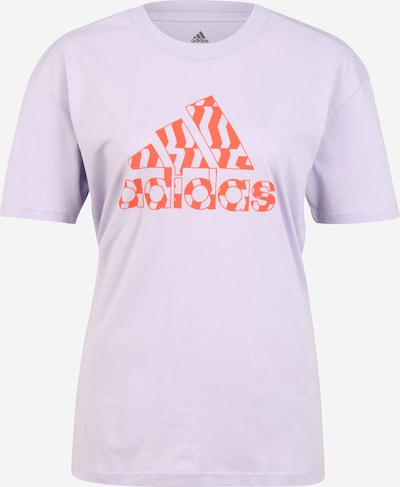 ADIDAS PERFORMANCE T-shirt fonctionnel 'MHE GR' en lilas / orange, Vue avec produit