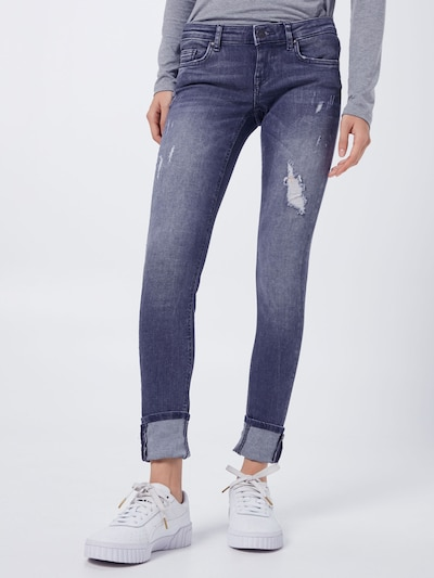 ONLY Jeans 'Coral' in grey denim, Modelansicht
