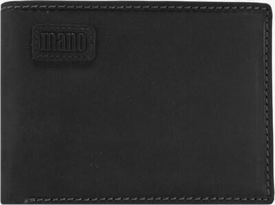 mano Geldbörse 'Nota' in schwarz, Produktansicht