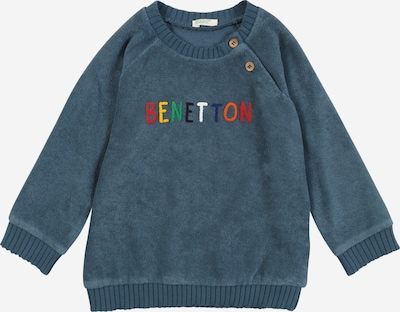 UNITED COLORS OF BENETTON Sweatshirt in taubenblau / mischfarben, Produktansicht