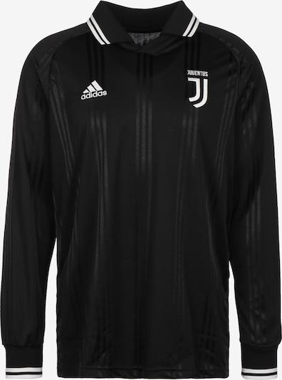 ADIDAS PERFORMANCE T-Shirt fonctionnel 'Juventus Turin Icons' en noir / blanc, Vue avec produit